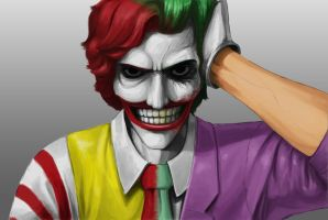 Ronald and The Joker by TheOnlyJuice1