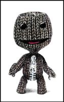 Sackboy - colored pencil by happylilsquirrel