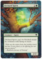 Orchard Spirit - MtG Alter by closetvictorian