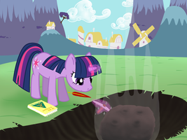 Twilight Discovers Meteorite by ProvidedDuck
