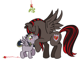 Commission: Sweet Mistletoe (Ironsight-Pony) by SpatialHeather