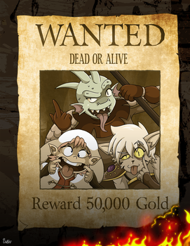 Wanted (Outcasts of Underside) by Will-Da-Beard
