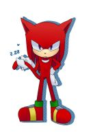 knuckles the cat by mas2a