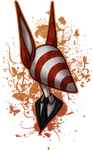 gift - candy-striped by Acrosanti