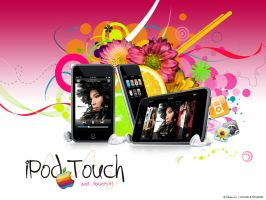iPod Touch wallpaper pack by simoner