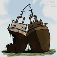 SCP-1522 Ships Passing In The Night by toadking07