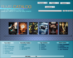 Films Catalog . by snakeARTWORK