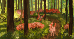 fairy forest by haemorrhoid