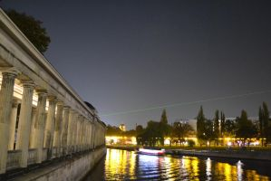 River Spree and National Gallery by mrcreilly