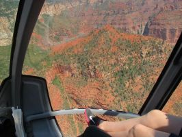 Flying over the Grand Canyon by TimCreed