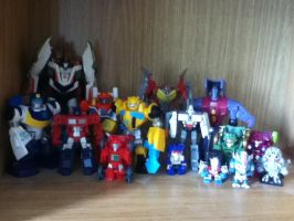 My Transformers Collection by SithVampireMaster27