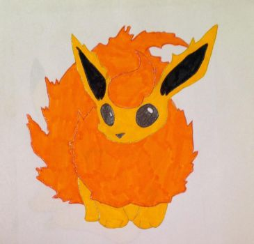 Flareon by Sofypalazzolo