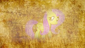Wallpaper Fluttershy 8 by Amoagtasaloquendo