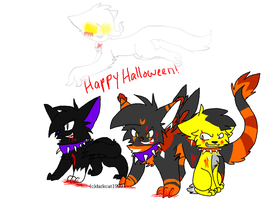 Halloween Collab With Darky by 4DAMANT
