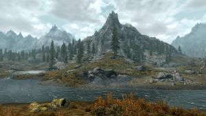 Landscape of Whiterun 20 by Marina17