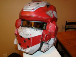 Halo 4 Spartan 4 helmet Painted by Hyperballistik