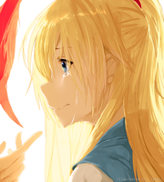 Chitoge Kirisaki's Tears by Hews-HacK