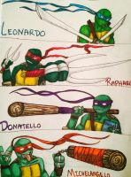 Tmnt by Horsesturtlespokemon