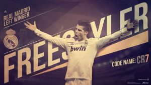 Cristiano Ronaldo - FREESTYLER by drifter765