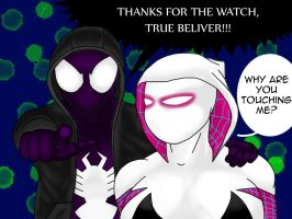 Watch by PlumpSpiderGwen