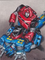 Cliffjumper and Rumble by Pompster
