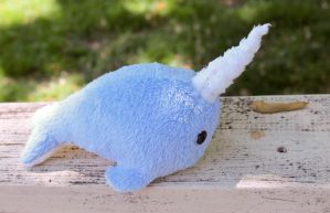 Large Narwhal Plushie by BeeZee-Art