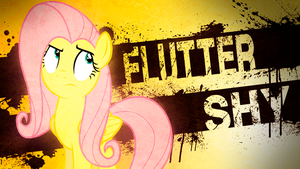 Fluttershy Wallpaper by TygerxL