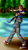 GaouxHanna- Carry You Anywhere- Point Commission by R-Blackout