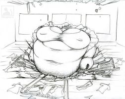 Jocelyn-My Belly Is Now Destroying Apartments by Hisano-x