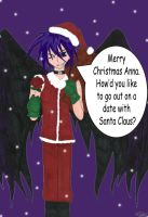 Dark Mousy Santa (Secret Ranger Present) by Winryi-chan