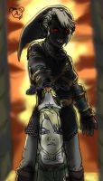 Dark Link by apricotmouse