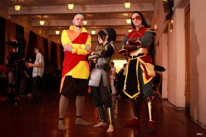 Avatar The Legend of Korra - Aang, Toph, Zuko by TophWei
