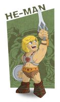 Meejitz - He-man by happymonkeyshoes