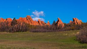 Medows and Red Rocks by Merlinman50