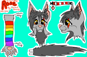 Rose Fursuit Ref by Arkare