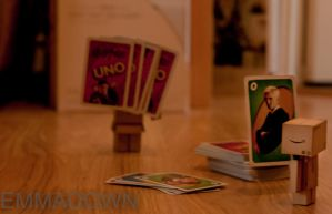 'Lets play some UNO!' - Danbo Series by oEmmanuele