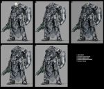 power armour marine variations by genocidalpenguin