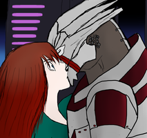 Turian Kiss by Padme4000