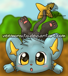 Chibi Shinx by Veemonsito