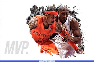 Carmelo Anthony - Kobe Bryant: MVP by rashaanmalikdesigns