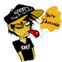Humanized Daffy Duck by vaness96