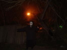 ghostface and the red moon by jadenandfriendsclub