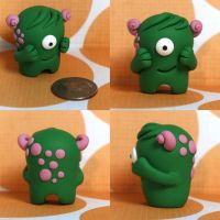 Elnora the Timid Monster by TimidMonsters