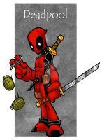 Deadpool by badgerlordstudios