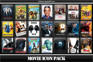 Movie Icon Pack 8 by FirstLine1