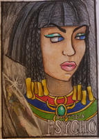 Neith AmericanPsycho by PeaceArtAndZombies