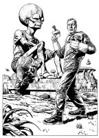 Dan Dare rough by westonfront