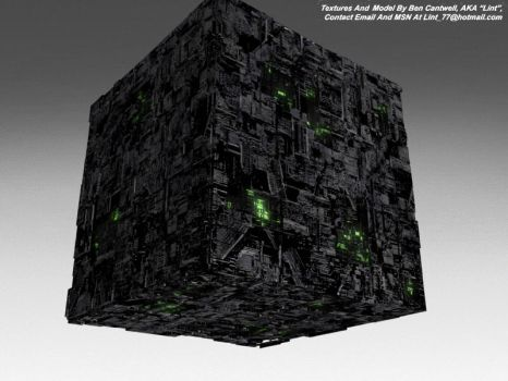 Borg Cube by lint77