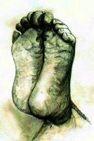 Attached Foot... by BlueMillenium