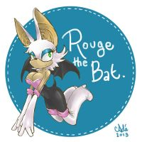 Rouge the Bat by Ra-vel